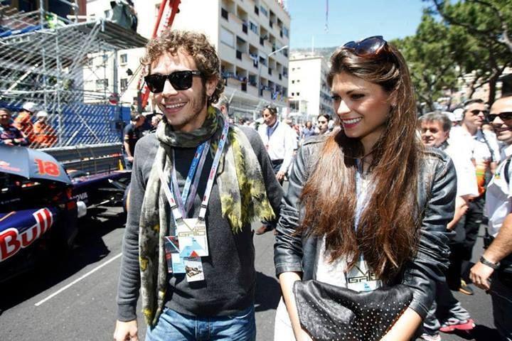 Valentino and girlfriend, Linda Morselli