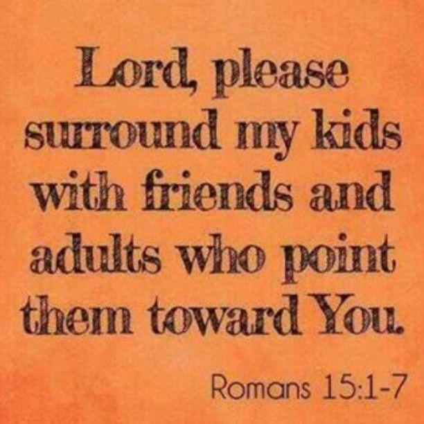 My daily prayer for my children.