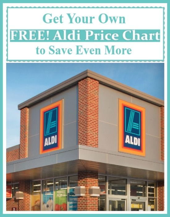 Click HERE to Download Aldi's Price Chart