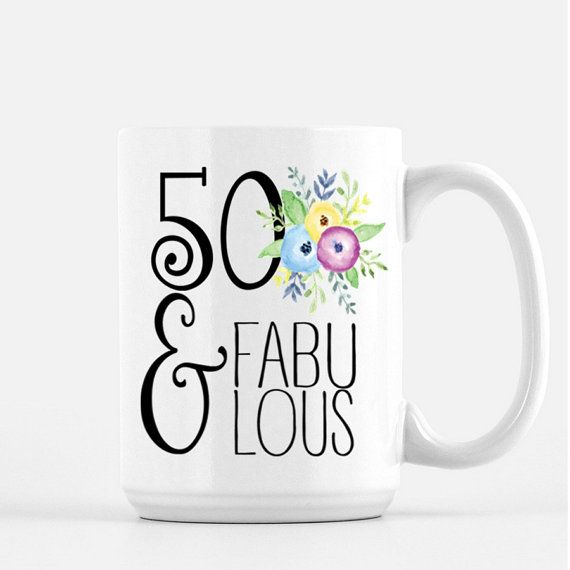 50th Birthday Gift, 50th Birthday Gift for Her, 50th Birthday, 50th Birthday Party Gift, Gift for turning 50, Fiftieth Birthday Gift, 50th