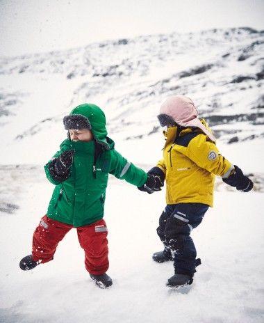 Didriksons Hamres Kids Jacket. #Ski #Snow #Kids