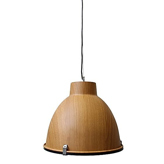 Combine classic industrial curves with the clean, contemporary oak timbers of Scandinavian style with the Helsinki Pendant Light from Fat Shack Vintage.