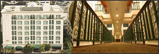 Suites at Saladaeng Colonnade, 21 Saladaeng Road. Zannotti Restaurant is on the ground floor.