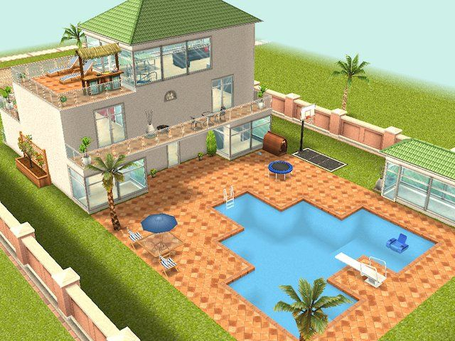 The Sims Mobile Game Gets Dream Home Content Update In 2020 Sims Freeplay Houses Sims Free Play Best Sims