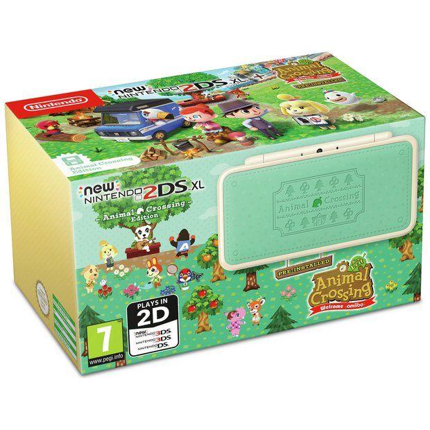 Buy Nintendo 2ds Xl Console Animal Crossing New Leaf Edition