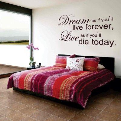 oltre 25 fantastiche idee su murales per la camera da letto su ... - Stickers Per Camera Da Letto