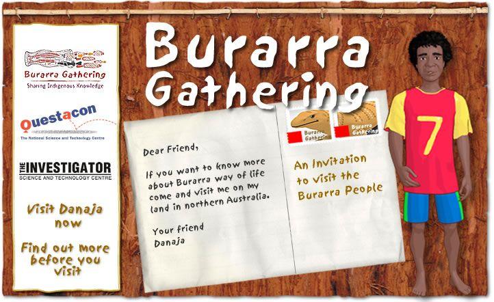 Burarra Gathering homepage