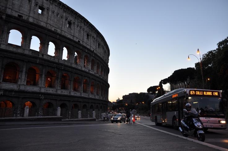 Collosseum, Rome, Italy :)