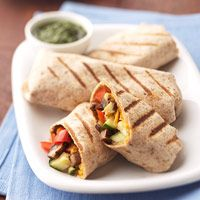 Grilled Vegetable Burrito - Carbs 25g.