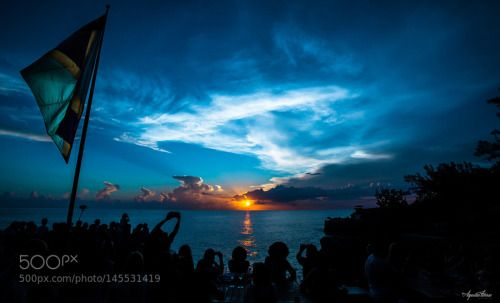 Sunset At Ricks by Aquiles_Torres  sunrise sunset people clouds vacation summer beautiful jamaica weather flag cloud porn 2015 ricks ca