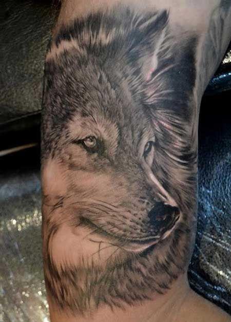 Tatuagens de Lobos: na Perna, em 3D, Significados