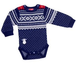 Babys first Christmas sweater - might need to find something like this for my little man.