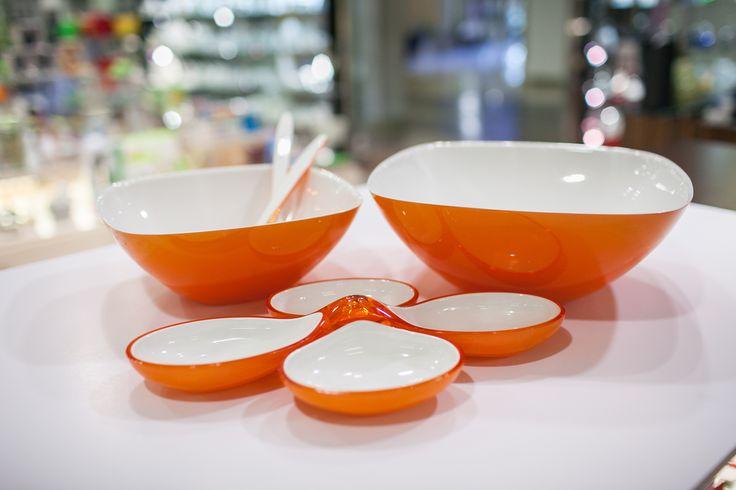 Pomarańczowe liście na drzewach już są - na Twoim stole mogą pojawić się miski Guzzini.
