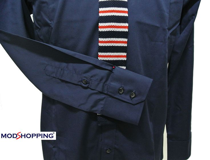 Modshopping - NAVY BLUE BUTTON DOWN COLLAR SHIRT, £45.00 (http://www.modshopping.com/navy-blue-button-down-collar-shirt/)