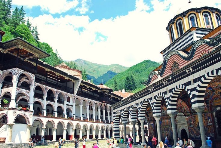 Rila Monastery is founded in the 10th century by the hermit St. Ivan of Rila. He actually lived in a cave without any material possessions not far from the monastery's location. His students built the complex when they came to the mountains to recieve their education.  5. The monastery is depicted on the reverse of the 1 lev banknote from 1999.  6. The Rila Monastery preserved the Bulgarian language and culture in the ages of Ottoman rule.  7. The monastery is known as being one of the…