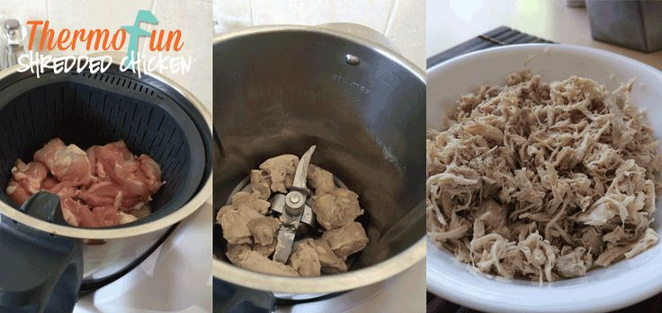 ThermoFun – Everyday Basics – Shredded Chicken - http://www.everyrecipe.com.au/r/thermofun--everyday-basics--shredded-chicken-16153661.html
