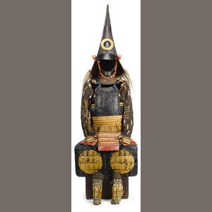 An unusual armor with a large kawari kabuto Momoyama period (late 16th century) and later