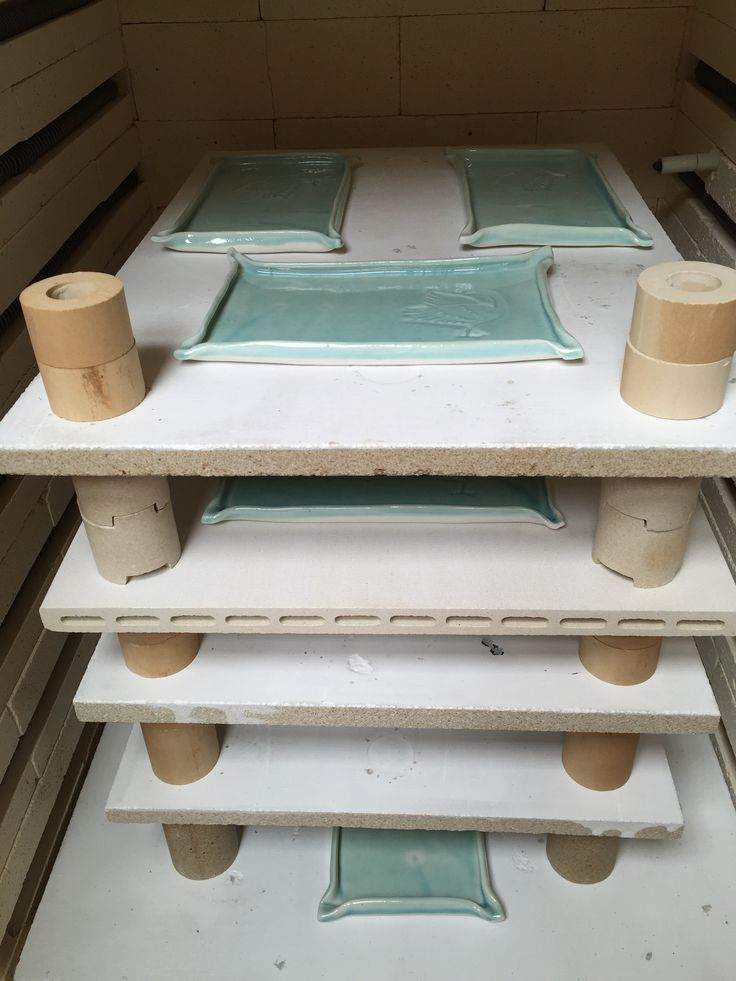 Lynda - Anne Raubenheimer - porcelain tray order, glaze firing complete 4 Feb 2016