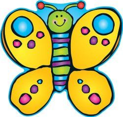 Two-sided Butterfly Decoration