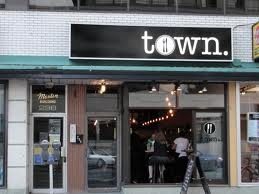 Town. Ottawa, Ontario.   Great artisanal restaurant. Make a reservation because its always buys.