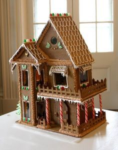 How to make a Gingerbread House: recipes and hints and tips for putting it all together.