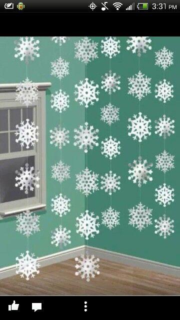 Great idea for a winter dance