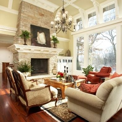 Traditional Fireplace Design, Pictures, Remodel, Decor and Ideas - page 33