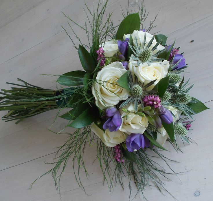 Wedding Bouquets Northamptonshire : Images about scottish themed wedding flowers on