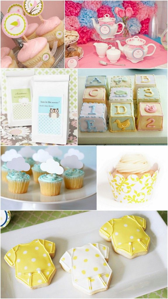 Baby Shower desserts and favors - inspiration by Koyal Wholesale and Dress My Cupcake