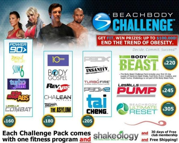 Beachbody Challenge Packs | Save Money | Get Results