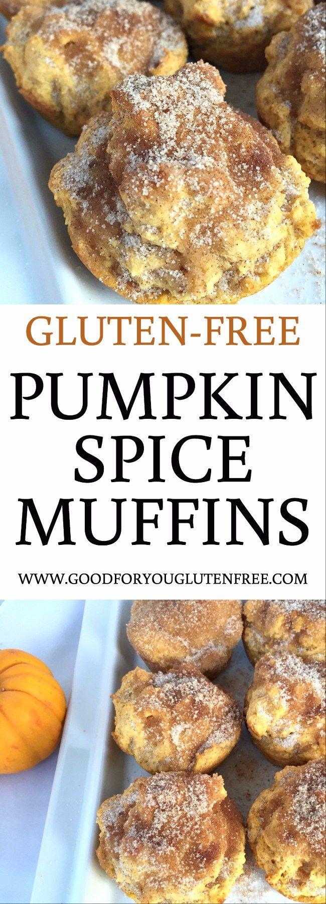 Gluten Free Pumpkin Pie Spiced Muffins