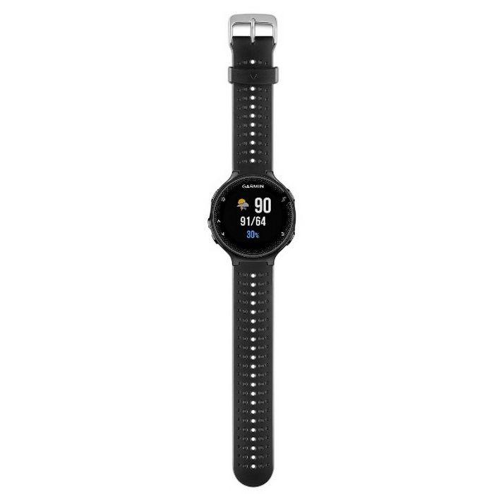 GARMIN Forerunner 235 - Black and Gray Silicone Watch English version