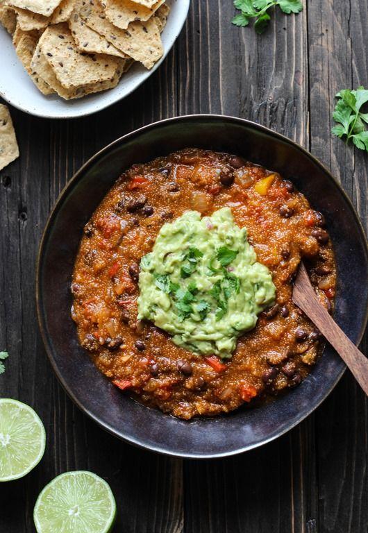 One Pot Mexican Ranchero Amaranth Stew (vegan, gf)