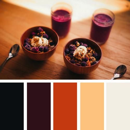 modern interior colors, orange color schemes