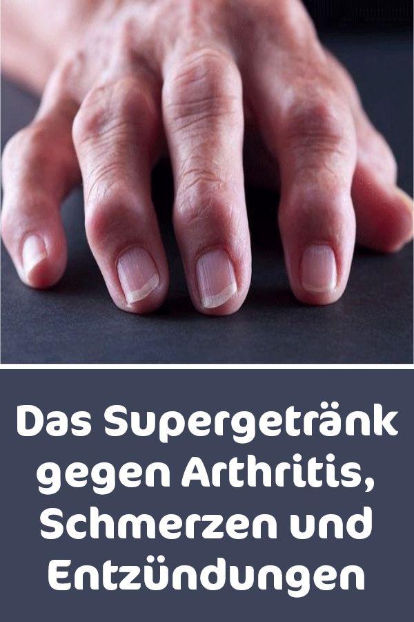 Das Supergetränk gegen Arthritis Schmerzen und Entzündungen – Gesundheit aus der Natur