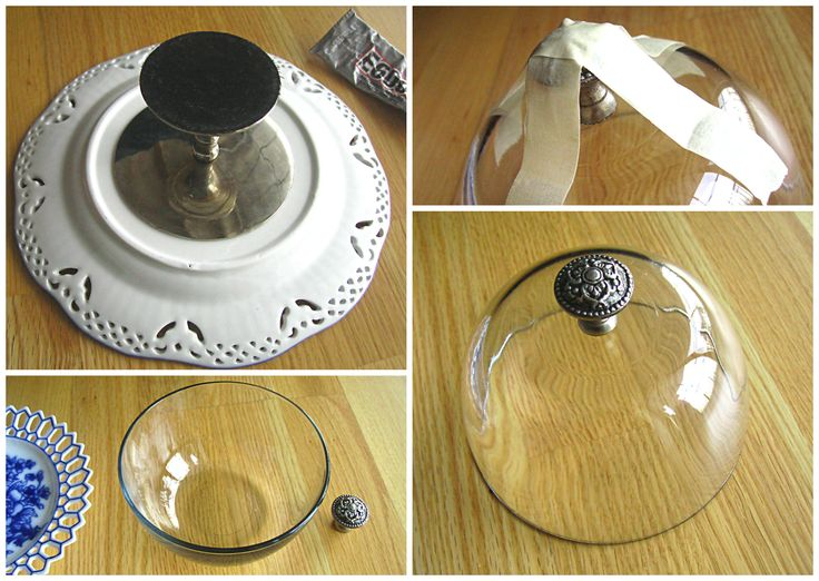 DIY Mini Domed Cake Plate & Cake Stand   Ode to Inspiration