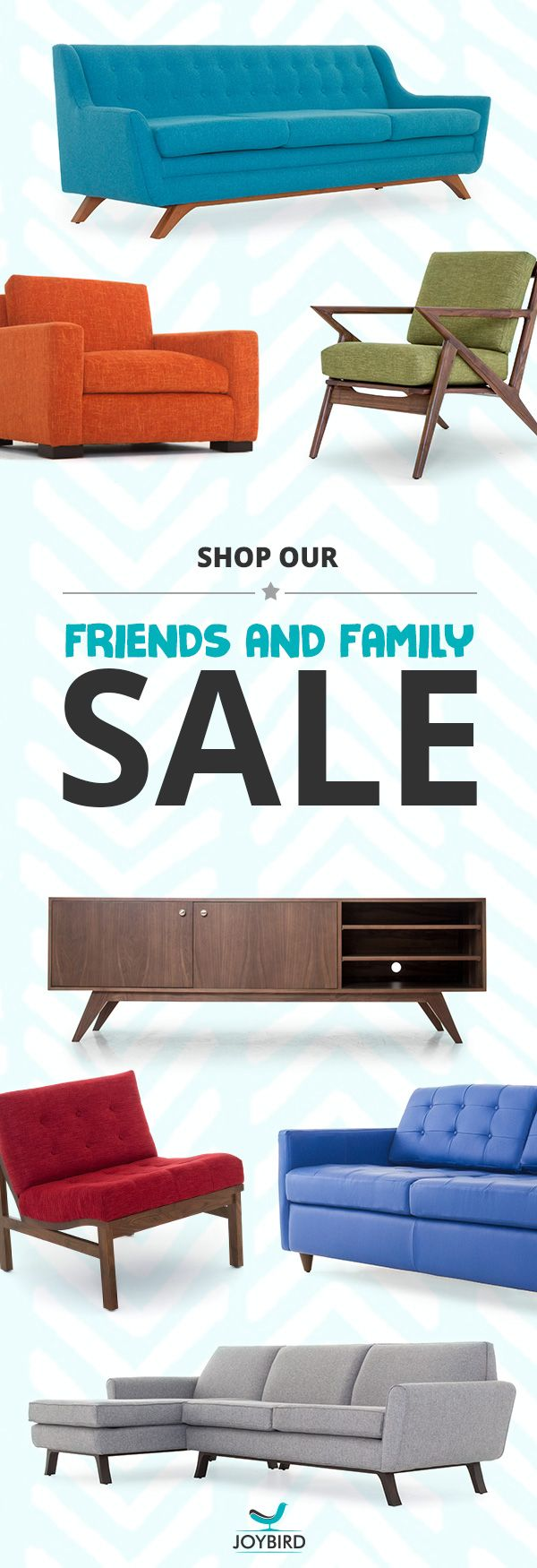 Premium quality designer furniture showroom to see touch and feel our - Inject A Little Mid Century Modern Style Into Your Home With Joybird S Collection Of Unique Quality Furniturefriends