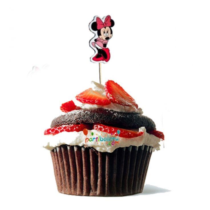 Minnie Mouse Kürdan Mini Mouse Kürdan Ürün Özellikleri  Paket halinde gönderilir ve paketin içinde 10 Adet Kürdan bulunmaktadır. Minnie Mouse kürdanlar renkli baskı ve 1. sınıf kalitededir. Minnie Mouse temalı kürdanlar paket halinde gönderilir. Doğum günlerinde yaptığınız pasta ve kekler için süs olarak kullanılmaktadır.