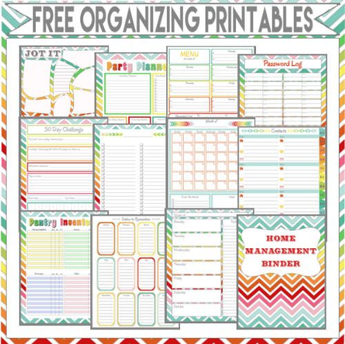 This Printable is part of my Home Management Binder Series. To view the rest of the free printables click HERE .  To get your free cop...