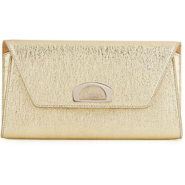 8e5829e62aa Christian Louboutin Vero Dodat Flap Clutch Bag ($1,250) ❤ liked on ...