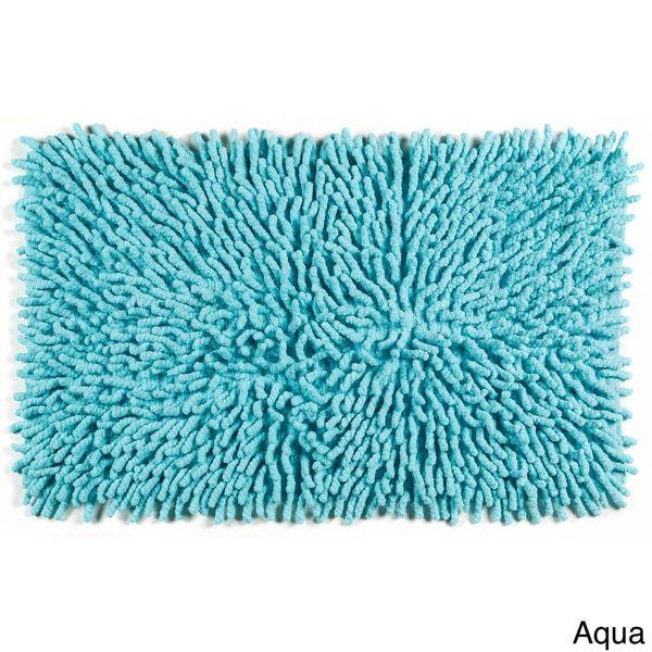 Shag Chenille 100-percent Cotton Kids 20 x 32 Bath Mat