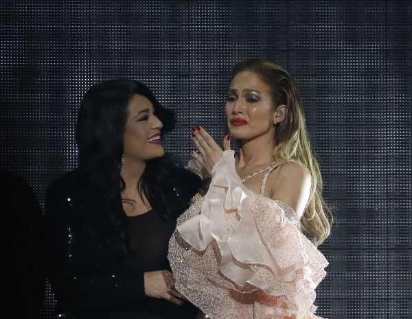 Suzette Quintanilla & Jennifer Lopez