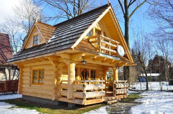 En vakker tømmerhytte på 27 kvadrat – jeg kunne flyttet inn hit med en gang   Liv Hack