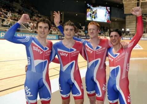 Team GB Cyclists