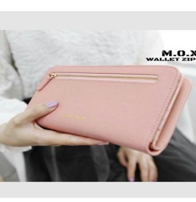 Dompet Resleting Tengah