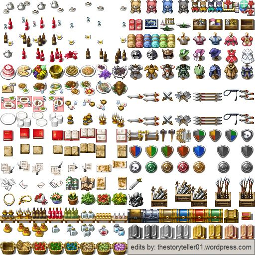Pin by Mike on Tilesets in 2019 | Rpg maker vx, Pixel games, Rpg maker
