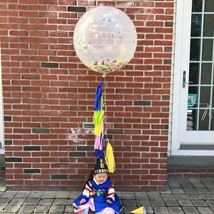 Blast off Astronaut Party Balloon Garland Set, Astronaut Foil Balloon, To the Moon and Back, Baby Boy, Stars and Moon Party Decor