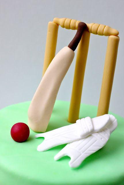 Sweet Art Cakes by Milbreé Moments: Cricket Cake, Hughlala!!!