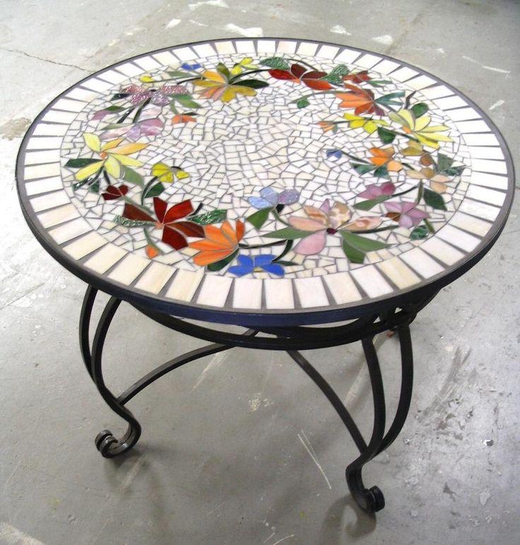 Best 25 Mosaic Tables Ideas On Pinterest