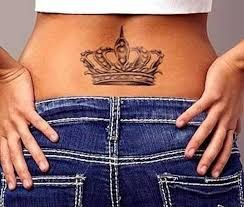 Image result for lower back tattoo heavy girl